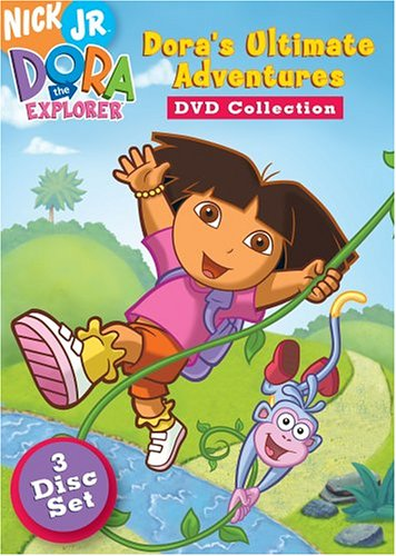 Amazon Com Dora The Explorer Dora S Ultimate Adventure Collection