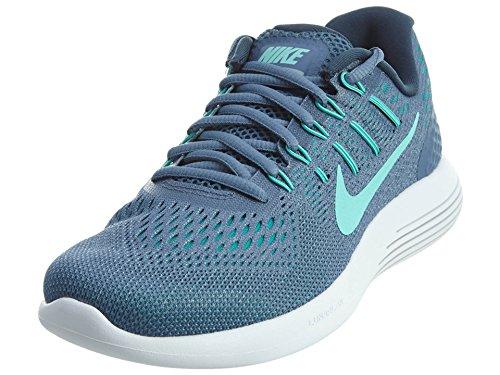 Nike Womens Lunarglide 8 Oceano Nebbia / Iper Turchese / Blu / Grigio