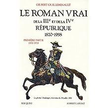 Roman vrai 3e et 4e republ.t.1