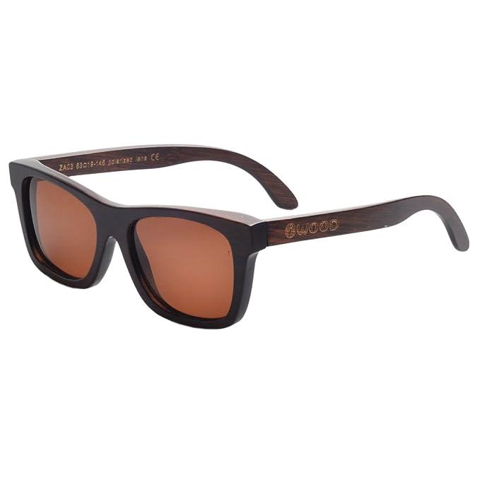 Iwood Hechas a Mano Moda Madera Marcos polarizadas gafas de sol de bambú