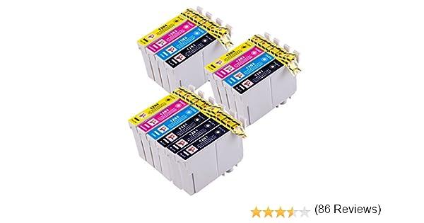14 Cartuchos de tinta compatibles para Epson Stylus S22 SX125 ...