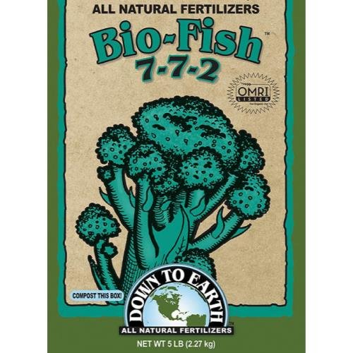 Down To Earth Bio-Fish Fertilizer, 5 lb.