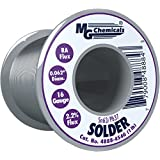MG Chemicals 63/37 Rosin Core Leaded Solder, .62″ Diameter, 1 lb Spool