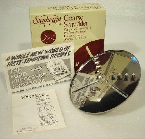 Sunbeam Vista Stainless Steel Coarse Shredder