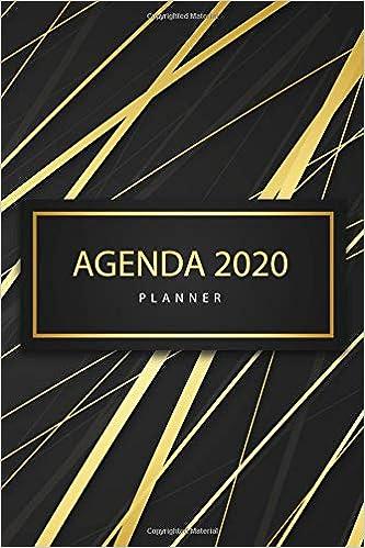 Agenda 2020 Planner: Agenda 2020 Elegant: Planner Weekly And ...