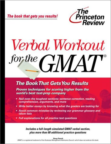 Verbal Workout for the GMAT (The Princeton Review)