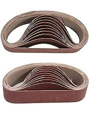 Abrasive Sandpaper Sheets 10st 30x330mm Slipbälten 800 Grit slipning Slipningsverktyg för Sander Power Rotary Tools Kiselkarbid
