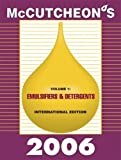 McCutcheon's Emulsifiers and Detergents : International Edition, Michael Allured, 1933430079