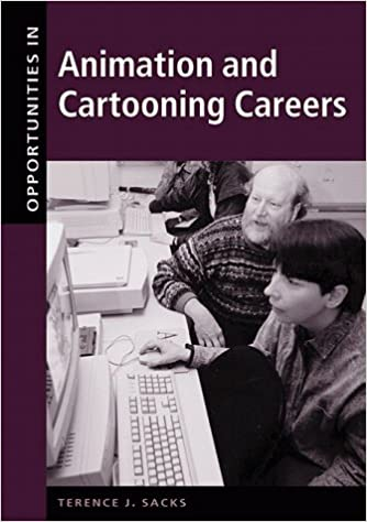 opportunities in cartooning and animation careers sacks terence