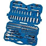 Draper 02363 149 Piece 1/4, 3/8, 1/2 Inch Square Drive Metric Socket and Socket Bit Set by Draper