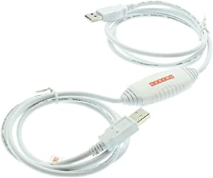 Gearmo Driverless USB 2.0 Data Transfer Cable for Windows 10/8 / 7 / Vista & XP