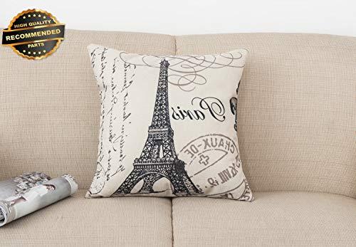 Gatton Premium New Cotton Linen Square Pillow Case Home Decorative Sofa Waist Throw Cushion Cover | Collection SHEESRONG-200114723