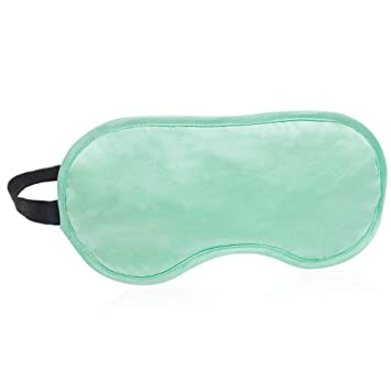 8798295b1 Topzons Silk Sleep Mask with Adjustable Elastic Strap Headband for Women  and Men