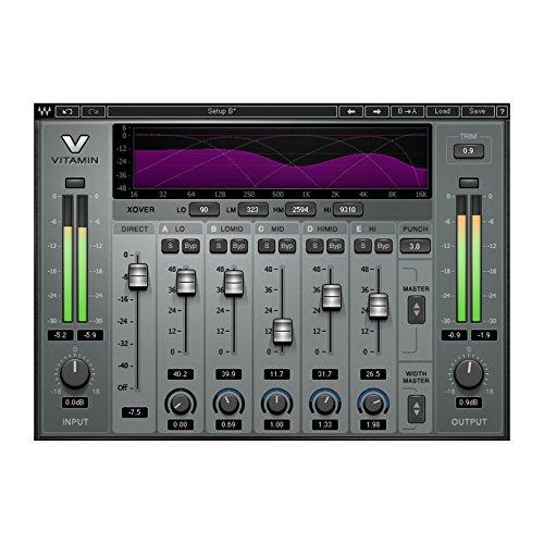 Waves Vitamin Sonic Enhancer   Multiband Harmonic Enhancer Plugin Download Only