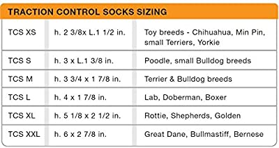 Petego Traction Control Socks for Dogs, Set of 4