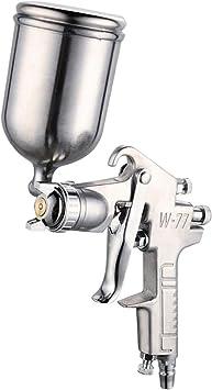boquilla de pulverizaci/ón por aspiraci/ón con pintura de aire de 3.0mm Pistola pulverizadora de pintura neum/ática herramienta neum/ática para la reparaci/ón de pintura de autom/óviles