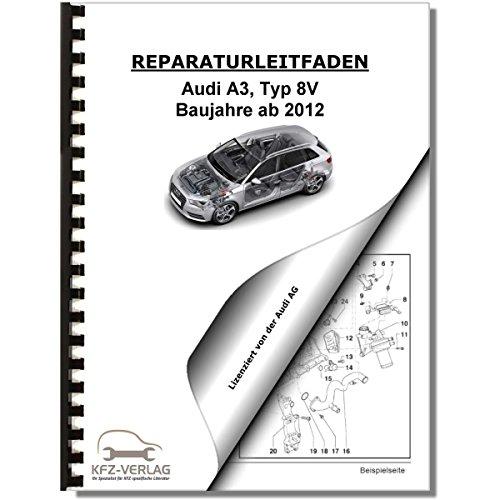 Audi A3, Typ 8V 12> Schaltplan, Stromlaufplan, Verkabelung, Elektrik ...