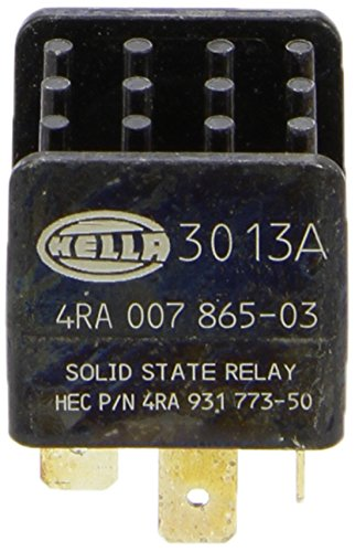 HELLA 4RA 007 865-031 Relay, main current, 12V, Pulsation-controlled Hella KGaA Hueck & Co.