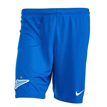 1dda709df65d9 Nike 2018-2019 Zenit Home Shorts (Blue): Amazon.co.uk: Sports & Outdoors