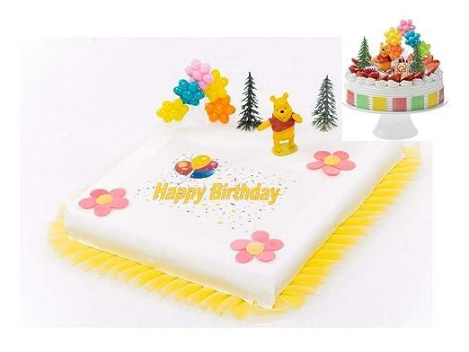 Decoración para tartas Winnie the Pooh Cumpleaños infantiles ...