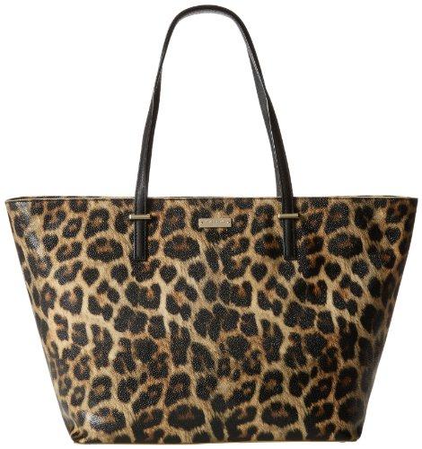 kate spade new york Medium Harmony PXRU4423 Shoulder Bag,Leopard,One Size, Bags Central
