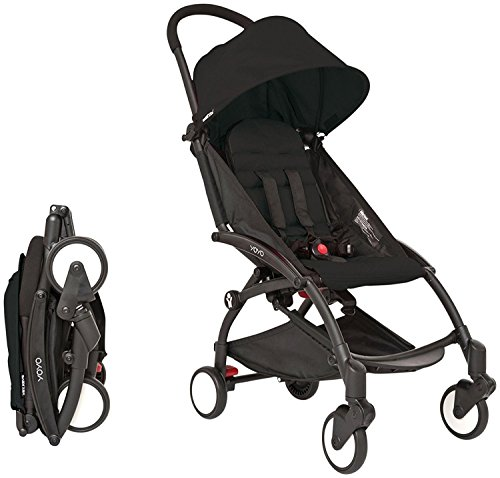 YOYA 2017 Stroller Color Black - Easy to fold - Extremely lightweight by YOYA