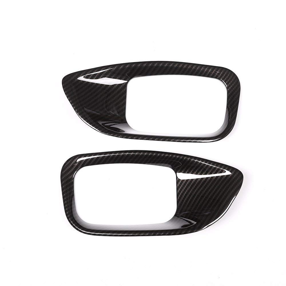 ABS Chrome Interior Accessory Car Sticker Seat Adjustment Cover Trim for Jaguar XE//F-Pace//XFL//XF X761 2016-2017 Matte Silver