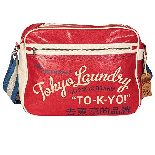 Borsa Tokyo Laundry Yamamoto Messenger (Rosso)