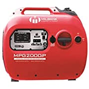 Milbank MPG2000IP Digital Inverter Portable Generator