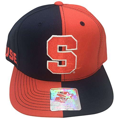 (STARTER Syracuse Orangemen Two-Tone Snapback Adjustable Hat)