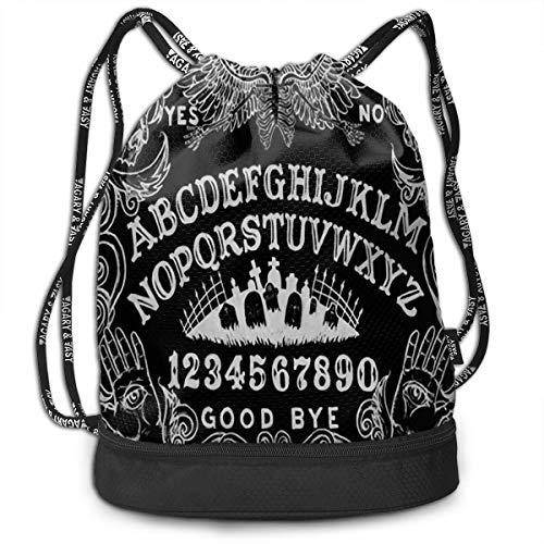 Witch Board Black Gothic Pumping Rope Bags Large