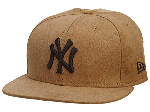 New Era New York Yankees Fitted Hat Mens Style: NYYANKEE-150 Size: 7 1/2 Tan/Brown