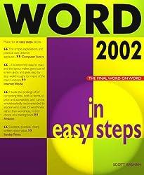Word 2002 in Easy Steps
