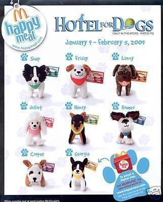 Amazon Com Mcdonalds Hotel For Dogs Lenny Toy 3 2009 Other