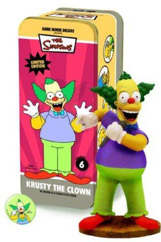 amazon com dark horse deluxe classic simpsons characters 6 krusty
