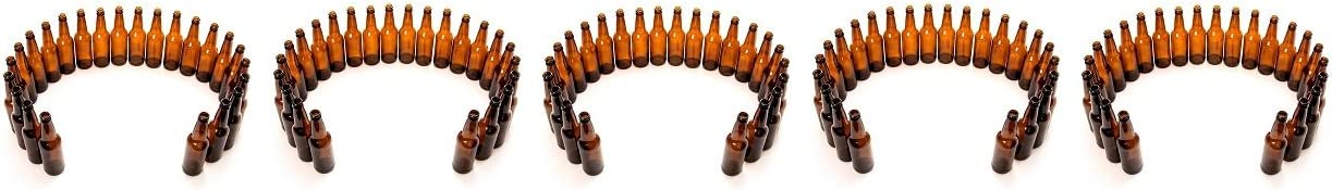 Monster Brew Home Brewing Supp Amber Beer Bottles (24 Pack), 12 oz (5-(24 Pack))