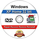 Windows XP Home Edition OEM Install | Boot | Recovery | Restore CD Disc Disk Perfect for Install or Reinstall of Windows