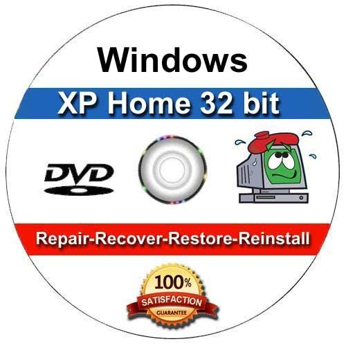 Windows XP Home Edition OEM Install | Boot | Recovery | Restore CD Disc Disk Perfect for Install or Reinstall of Windows (Windows Disk Reinstallation)