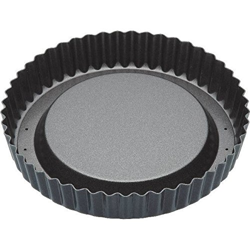 8 Raised Fluted Flan Baking Tin (Pack of 2) Master Class