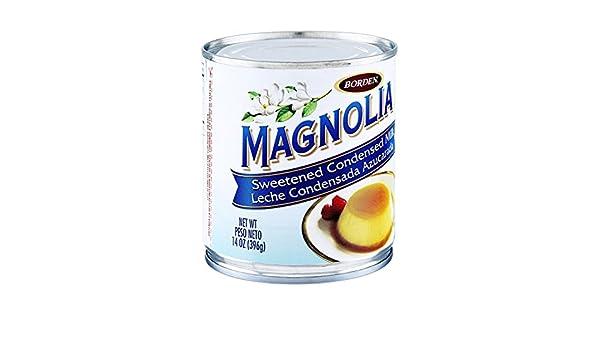 Amazon.com : Borden, Magnolia, Sweetened Condensed Milk, 14oz Can (Pack of 6) : Grocery & Gourmet Food