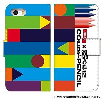 c4418bdcd8 スマホケース 手帳型 android one s3 ケース かわいい サクラ クレパス クーピー クレヨン 柄 デザイン おしゃれ 0221
