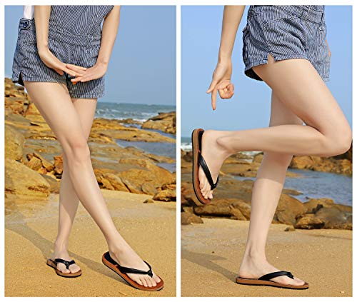 AX BOXING Womens Sandals Flip Flops Thong Casual Flat Sandal Non-Slip