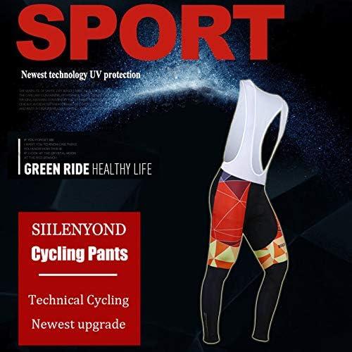 LHZTZKA Maillot Manches Longues Pantalon 3D Coussin en Silicone Solide Tenue V/élo Cyclisme Homme Jersey Respirant S/échage Rapide V/êtements//Combinaison Cycliste Homme Printemps Automne Hiver S-4XL