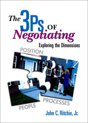 3Ps of Negotiating, The: Exploring the Dimensions