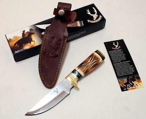 "9.5"" Wholesale Hunting Knife Bone Handle Skinner Knife Good Quality"