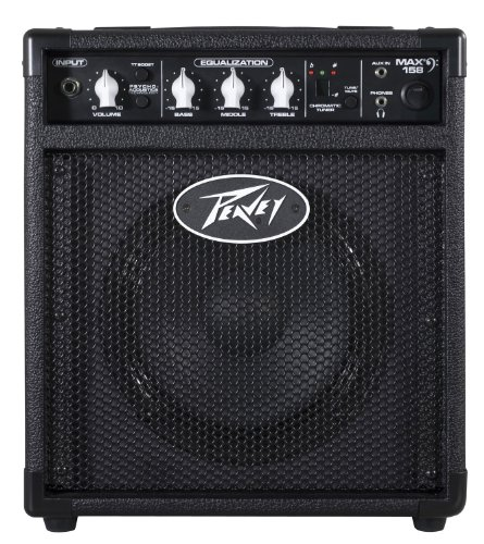 Peavey  Max 158 Bass Combo Amplifier (Peavey Rage 158 Transtube Guitar Combo Amplifier)