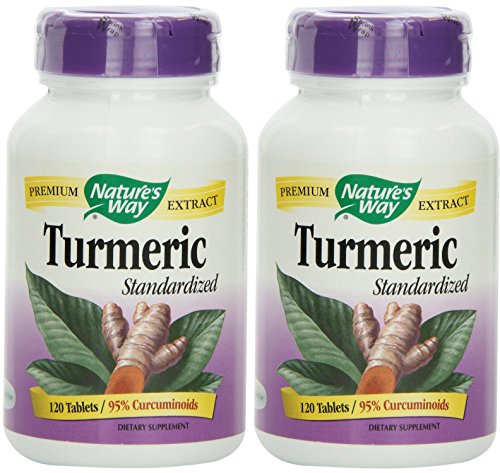 Natures Way Turmeric, 120 Tablets X 2