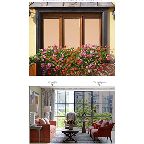 [HOHO] Bronze Window Tint Film One Way Vision Reflective Window Solar Film (152cmx3000cm) by HOHO
