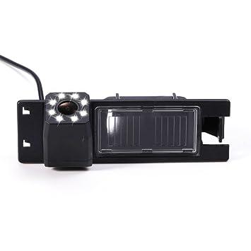 Dynavision Universal Vista Trasera cámara CCD Chip para Opel Astra H/Corsa D/Meriva A/Vectra C/Zafira B,FIAT Grande Modelos de Coches (Negro): Amazon.es: ...
