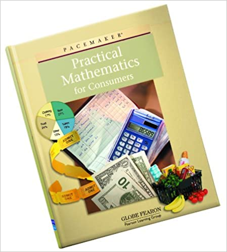 Amazon pacemaker practical mathematics for consumers pacemaker practical mathematics for consumers 3rd ed edition fandeluxe Images